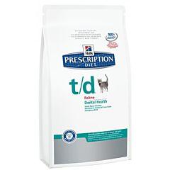 Диетический корм Prescription Diet Feline t/d для кошек, Hill's