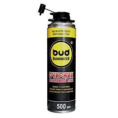 Очиститель монтажной пены 500мл, Budmonster