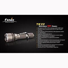 Фонарь Fenix TK22 Cree XM-L2 (U2), Оливковый