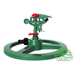 Распылитель  воды пульсирующий стационарный, пластмассовый 14316, Оазис