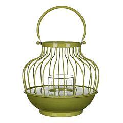 Изделие декоративное в виде фонарика, зеленый, Greenware