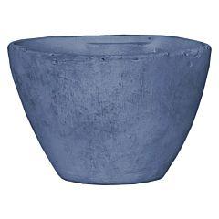 Горшок для растений, овал, голубой, Mica Decorations