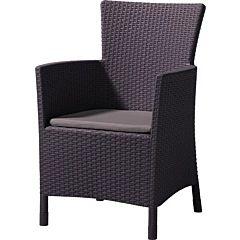 Кресло Iowa коричневый, Allibert