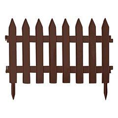 Садовое ограждение GARDEN CLASSIC, коричневый, 3,2 м, Prosperplast