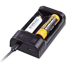 Зарядное устройство Fenix (10440, 14500, 16340, 18650, 26650) (ARE-X2)