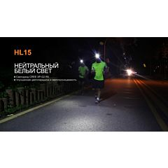 Фонарь Fenix HL15 Cree XP-G2 R5 Neutral White, пурпурный (HL15pr)