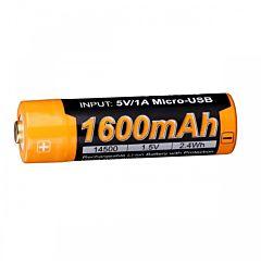 Аккумулятор 14500 Fenix (1600 mAh) (ARB-L14-1600U)
