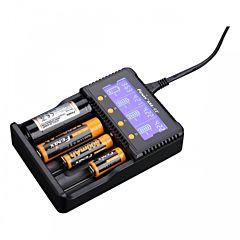 Зарядное устройство Fenix (18650, 16340, 14500, 26650, 10440, AA, AAA, C) (Are-C2plus)