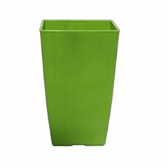 """Кашпо """"Финезия"""", зеленый, Ламела"""