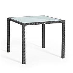 Стол квадратный, серый, Lechuza