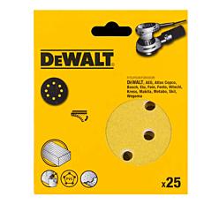 Самоклеющаяся шкурка d=150мм, DT3138XM_25_1, 1 штука, DeWALT