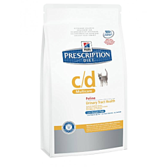 Диетический корм Prescription Diet Feline c/d Multicare курица для кошек, Hill's