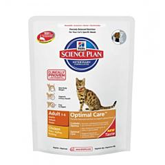 Корм SP Feline Adult Optimal Care для стабилизации веса c курицей, Hill's