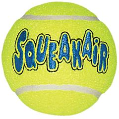 Игрушка воздушная пищалка-теннис, KONG