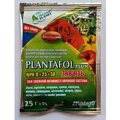 ПЛАНТАФОЛ ПЛЮС ВЯЗЬ NPK 0+25+50+ / PLANTAFOL PLUS NPK 0+25+50+ — водорастворимое комплексное удобрение для листовой подкормки, Valagro