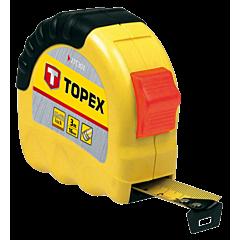 """Рулетка """"Shiftlock"""" 10 м, 27C310, TOPEX"""