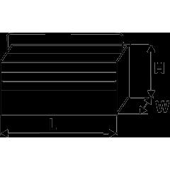 Ящик для инструмента металлический, 5-секционный, TOPEX