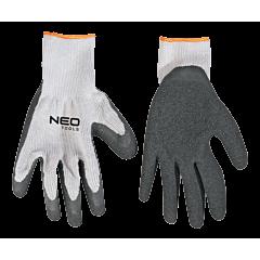 Перчатки рабочие  с латексным покрытием, NEO Tools