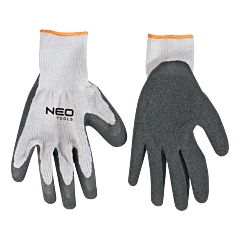 Перчатки рабочие  с латексным покрытием 97-601, NEO Tools