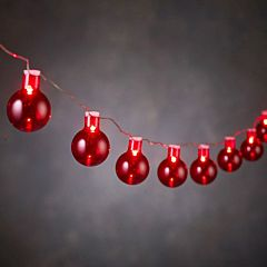 "Гирлянда 2.4 м, ""Лампочки красные"", Luca"