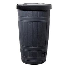 Емкость для сбора дождевой воды Woodcan, черная, Prosperplast