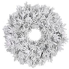 Венок декоративный Dinsmore Frosted зеленый со снегом, Black Box Trees