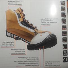 Ботинки рабочие NEO нубук с композитным носком, NEO Tools