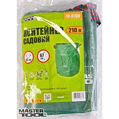 Контейнер садовый 210 л, полипропилен, 3 ручки, Mastertool