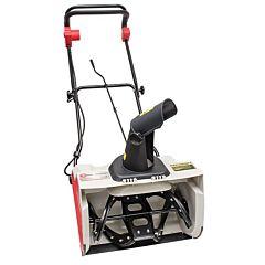 Снегоуборщик электрический, 1,6 кВт, рабочая ширина 500 мм, с регулировкой направления выброса снега SN-1600, INTERTOOL