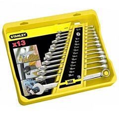 Набор ключей гаечных комбинированных 4-94-648, STANLEY