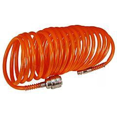 Шланг спиральный с быстроразъемным соединением 10 м PT-1704, INTERTOOL
