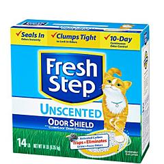 Глиняный наполнитель для кошек Odor Shield (без запаха), Fresh Step