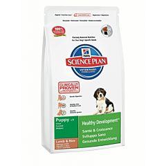 Корм SP Puppy Healthy Development Medium с ягненком и рисом, Hill's