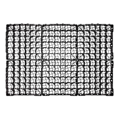 Газонная решетка HOBBY 415 x 415 x 25 мм, Bradas