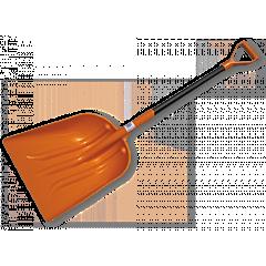 Лопата универсальная, пластиковая с металлическим черенком, Bradas