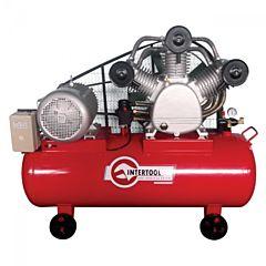 Компрессор 300 л, 20 HP, 15 кВт, 380 В, 8 атм, 2000 л/мин. 3 цилиндра PT-0052, INTERTOOL