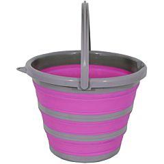 Ведро складное пурпурное 10 л, Spear&Jackson