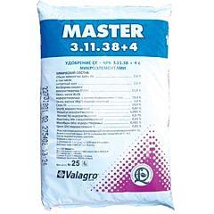 МАСТЕР NPK 3.11.38+4 / MASTER NPK 3.11.38+4 - комплексное минеральное удобрение, Valagro