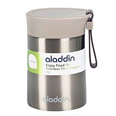 Термос для еды Enjoy Food, 0,4 л, серый, Aladdin