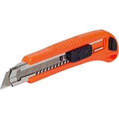 Нож прорезной, усиленный, 18 мм, MIOL