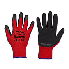 Перчатки защитные PERFECT SOFT RED латекс, Bradas
