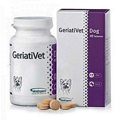 GeriatiVet Dog — добавка для стареющих крупных собак весом от 15 кг, VetExpert