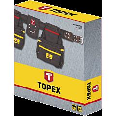 Пояс монтажника, 21 карман, TOPEX