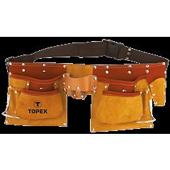 Пояс монтажника, 11 карманов, TOPEX