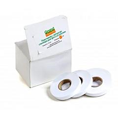 Пластиковая лента к степлеру для фиксации растений 100 микрон белая, 40 м, 10 шт./уп., GrondMeester