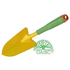 Лопатка садовая, широкая, с пластмассовой рукояткой 9376А, Оазис