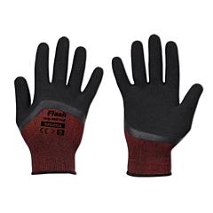 Перчатки защитные FLASH GRIP RED FULL латекс, Bradas