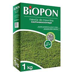Удобрение в гранулах для газона с сорняками, BIOPON