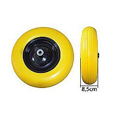 Колесо полиуретановое 4,0*8, желтое, Budmonster
