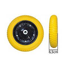 Колесо полиуретановое 3,0*8, желтое, Budmonster